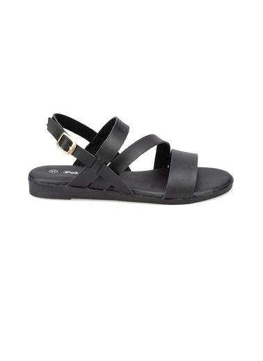 Polaris Sandalet Siyah
